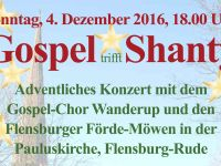 adventliches Konzert Pauluskirche Rude 2016